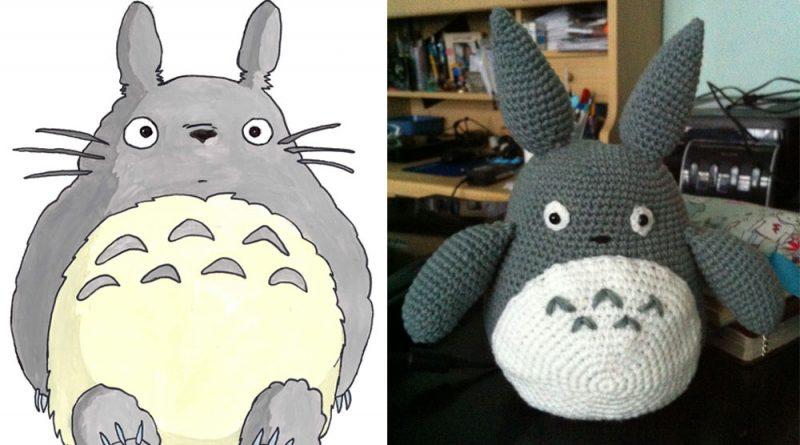 Totoro (free pattern)