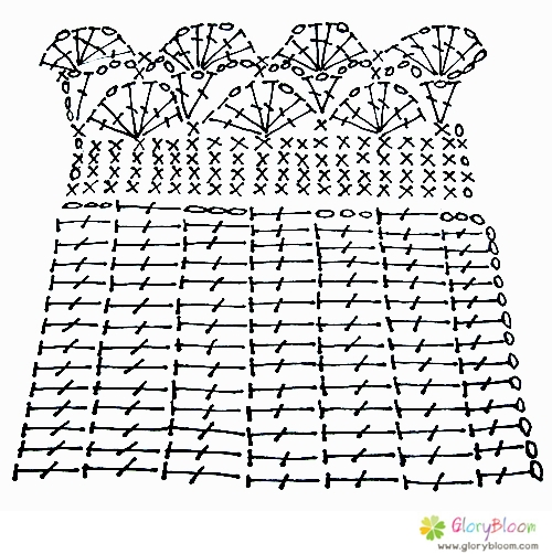 Cover Bag Handle_FanFan Pattern